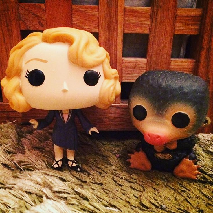 Just did a live unboxing video of these two lovely Funko Pops. How gorgeous is Queenie and look at little Niffler!  #funkopop #fantasticbeastsandwheretofindthem #niffler #queeniegoldstein #popvinyl #fantasticbeastsmerch