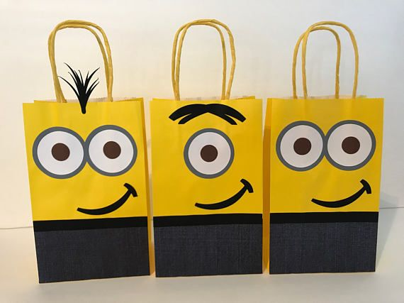 Listing is for 1 bag of the Minions Bag Size: 8.5 X 5.25 ************************************************************************************ All items come from a smoke-free and no pets home. Please Contact me with any special orders. Rush delivery is available, just send
