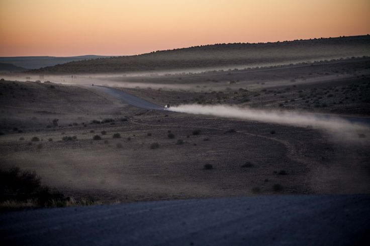 #Sunset in the Northern Cape, #SouthAfrica