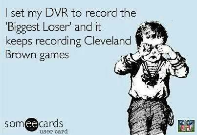 #Cleveland Browns....hoping this thinking changes for my team this year.  Go Browns!