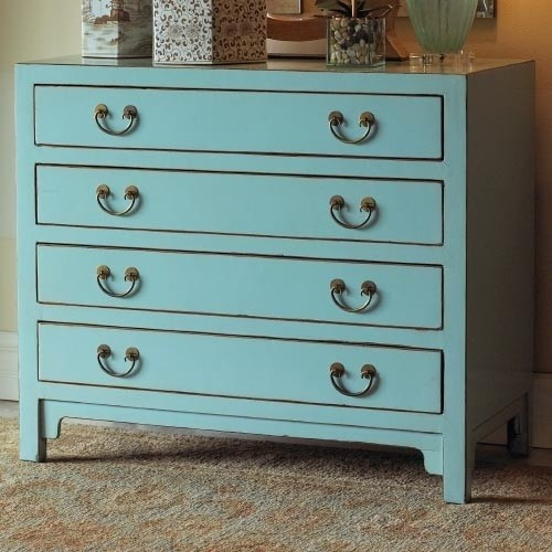 Hudson Blue Chest eclectic dressers chests and bedroom armoires