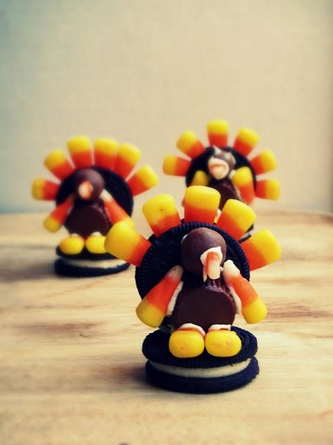 Turkey cookies!