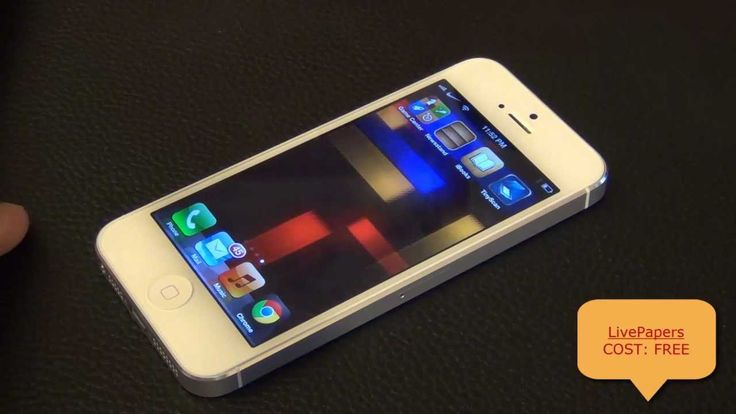 Live Wallpaper for iPhone 5 or 4: LivePapers from the Top Cydia Jailbreak Tweaks - YouTube