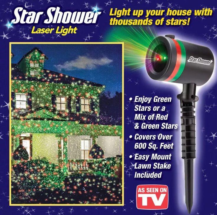 STAR SHOWER LASER LIGHT  AS SEEN ON TV FAST SHIPPING NEW !!