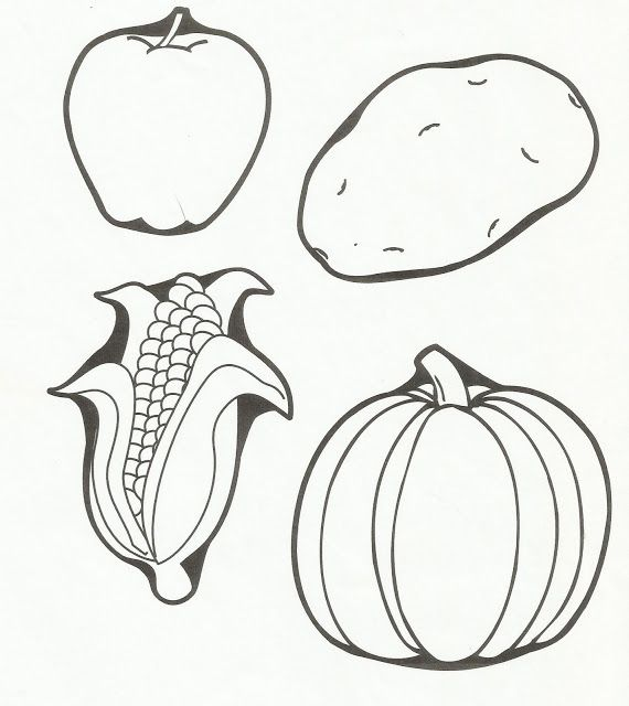 Top 111 ideas about Fruits & Veggies on Pinterest Coloring, Coloring pages for kids and Fruits ...