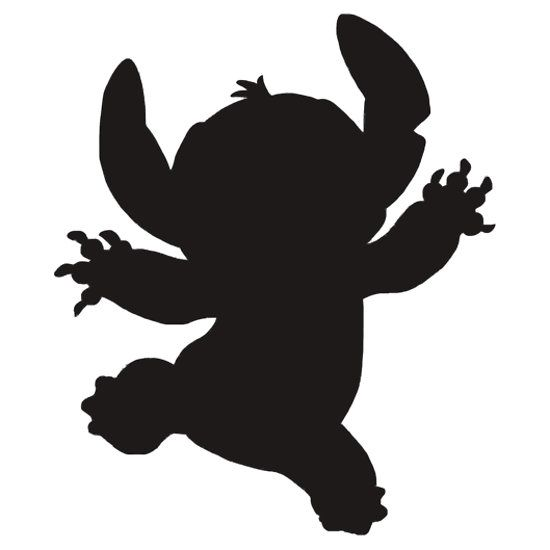 disney stitch silhouette - Google Search