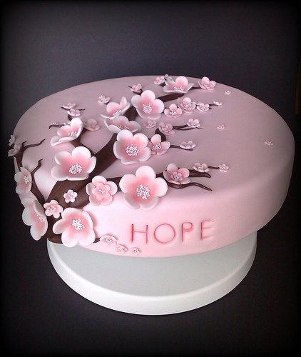 #CherryBlossom Cake