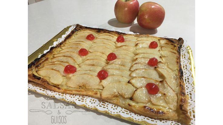 Hoy os cuento como hago una tarta de manzana de hojaldre muy rápidamente. Un postre express que nada tiene que envidiar a las que venden en ...