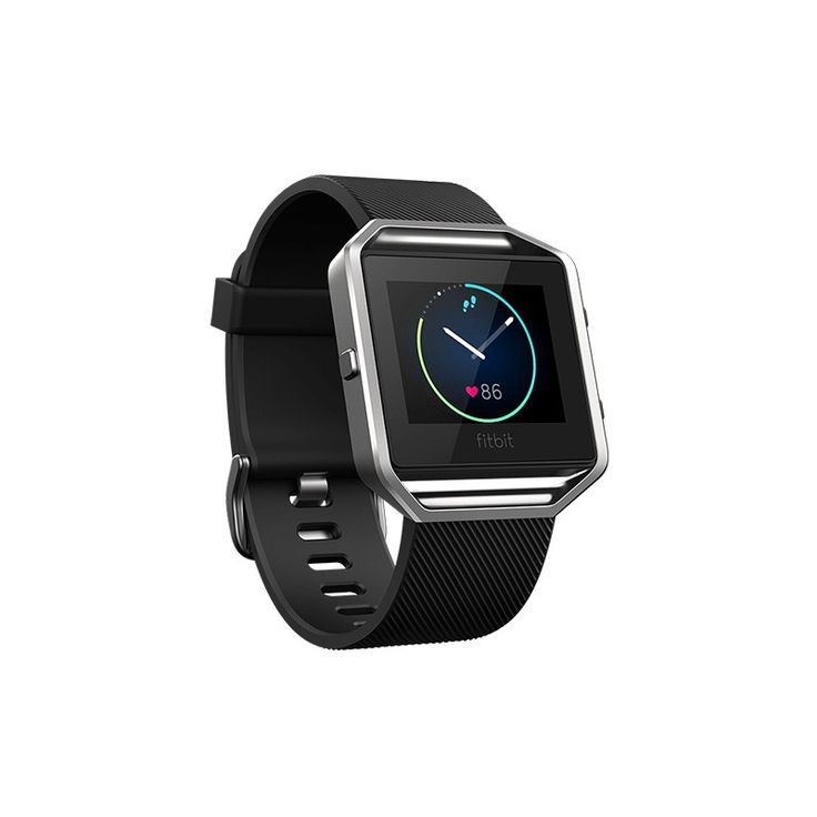 Fitbit Blaze Activity Tracker (Small-Black) - Get fit in style with a smart fitness watch built with revolutionary features like PurePulse™ heart rate, Connected GPS, on-screen workouts and more.