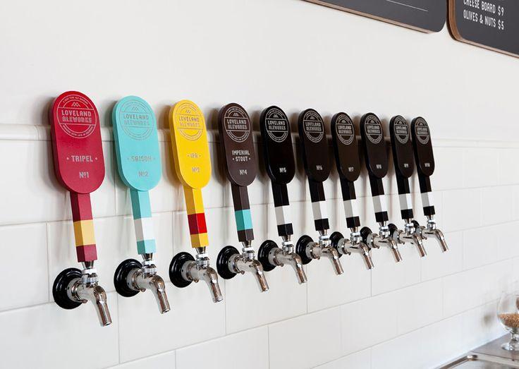 Loveland Ale Works Tap Handles