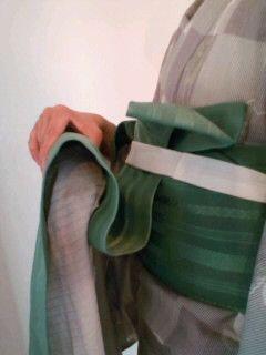 りぼん太鼓の結び方(なごや帯バージョン) の画像|着物練習帖