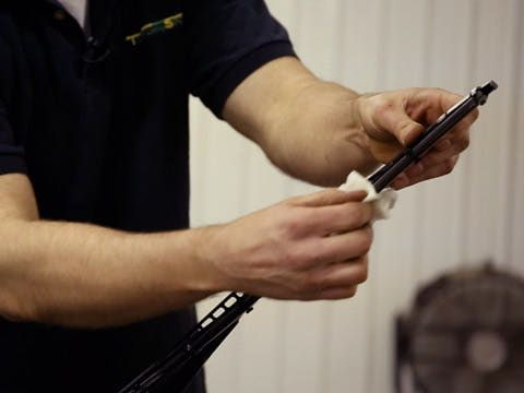 Learn some quick tips on how to clean your windshield wiper blades, to make sure that you always have a clean view while driving.