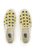 Vans, Logo Checkerboard OG Classic Slip-On LX Sneaker SHIPPING INFOEnjoy free ground shipping on all full price Vans, Vans Vault, and Vans for OC products. Sale items do not apply.DESCRIPTIONVault by Vans' signature OG Classic Slip-On LX sneakers are re-imagined in retro-inspired checkerboard uppers accented with the brand's iconic logo print throughout., US MEN'S SIZING, UNISEX, Low profile, Round toe, Canvas uppers, Tonal elasticated side accents, Padded collar, Canvas and leath...