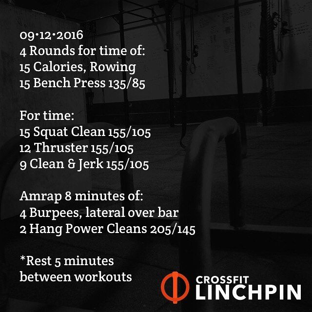 ATTENTION: We have updated the Linchpin website! Click on the link in our bio. The workout of the day & most recent Monster Mash are now located on the homepage. Simply scroll down to view them. Explore the site & enjoy! ••••••••••••••••••••••••••••••••••••••••••••••••• If you do the Mash & follow Linchpin the workouts will interfere with each other. ••••••••••••••••••••••••••••••••••••••••••••••••• The Monday Monster Mash is designed for the experienced CrossFit competitor. It is…