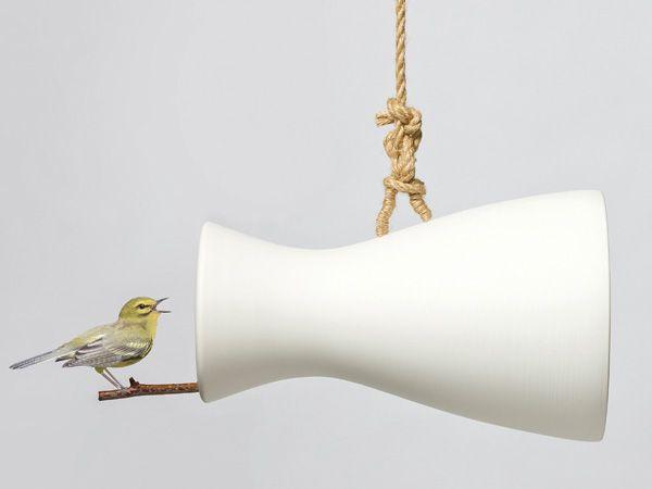 Nature Speaker – Bird Perch And Nest by Eun Ji Lee