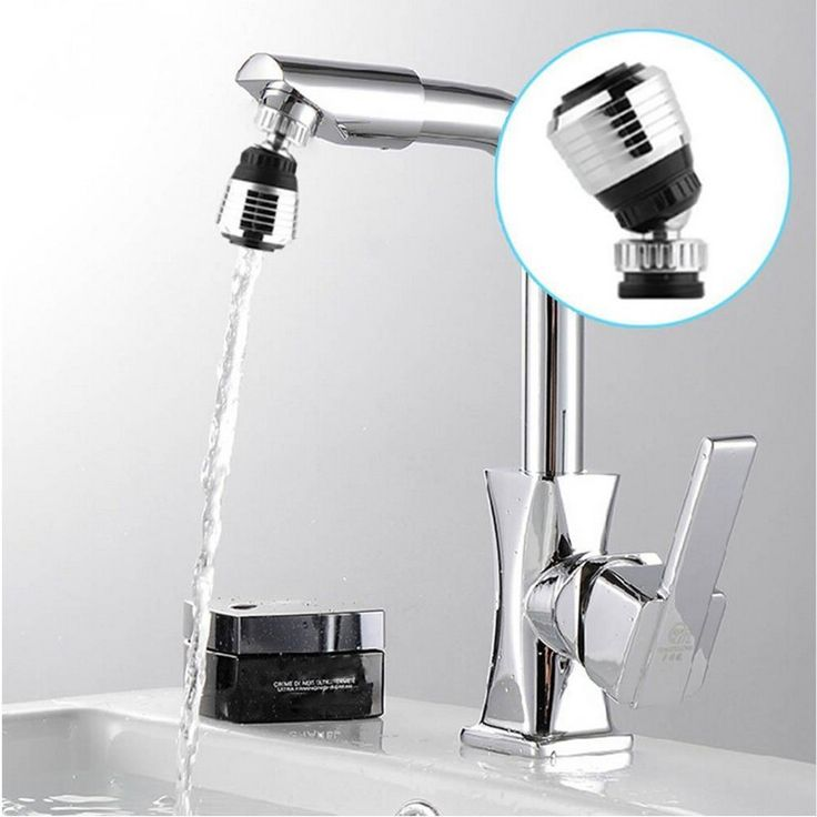 Kitchen Faucet Spouts 360-degree swivel head kitchen faucet filter faucet filter bubbler water-saving aerator shower splash
