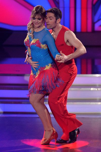 Nastassja Kinski Photos Photos - Nastassja Kinski and Christian Poland perform on stage during the 7th show of the television competition 'Let's Dance' at Coloneum on April 29, 2016 in Cologne, Germany. - 'Let's Dance' Films Its 7th Show
