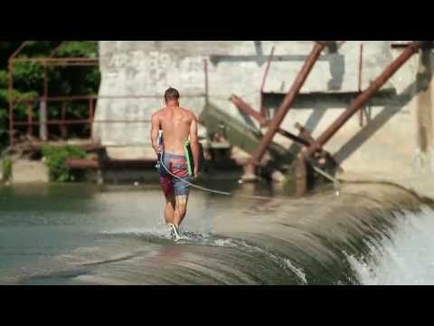▶ Aaron Reed - The Road goes on Forever.... #wakeskate #winch