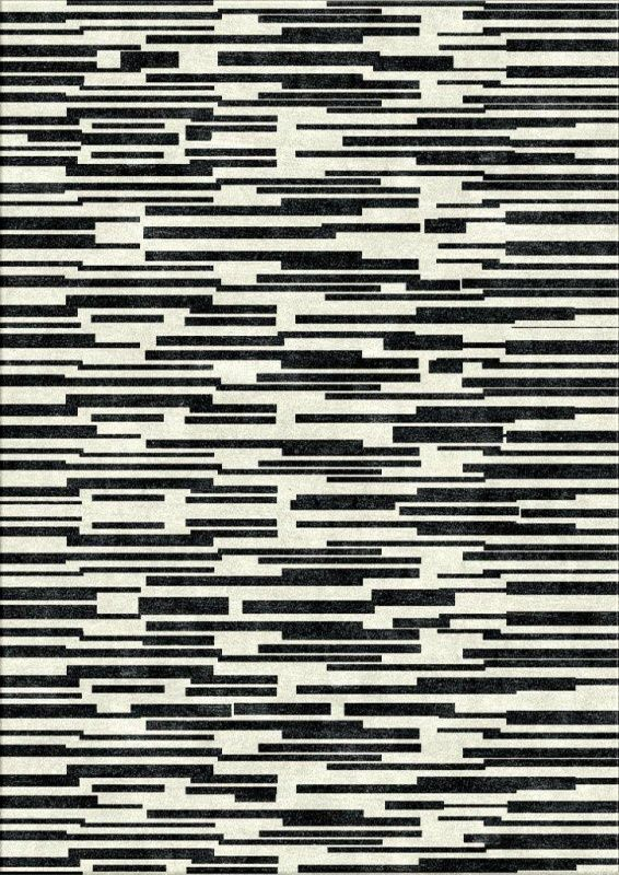 Stepped Monotone Rug by Bazaar Velvet Contemporary Rugs