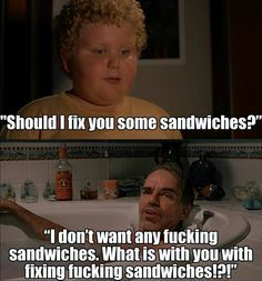Bad Santa Sandwich Quotes Movie Office Space Picture Flair Meme At Quotesmovie From