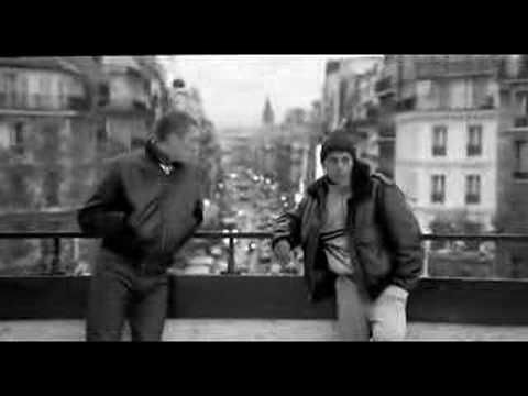 La Haine - clip showing dolly zoom