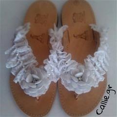 Handmade Greek Wedding Sandals
