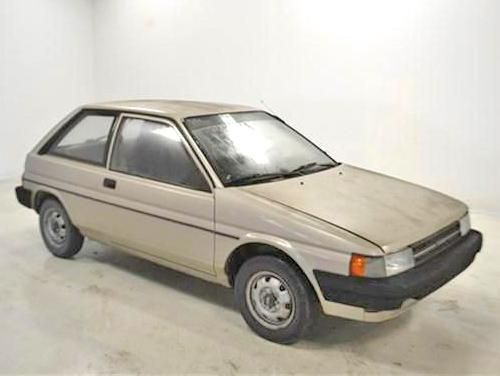 1988 Toyota Tercel 2-Door Liftback - Cheap economy car for $500 in KY