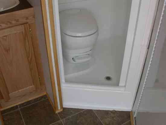 rv shower toilet combo kit rv toilet shower sink