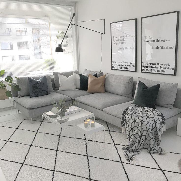 """791 likerklikk, 8 kommentarer – Janniina (@rakkaudellasisustettu) på Instagram: """"Kynttilöissä on sitä jotain ihanaa tunnelmaa #myhome #livingroom #livingroomideas…"""""""