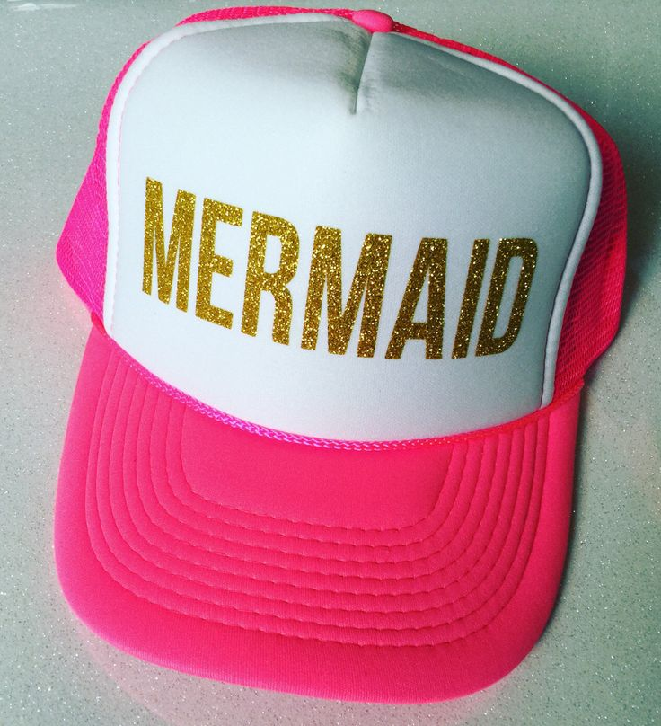 MamaHen Mermaid Trucker hat. A personal favorite from my Etsy shop https://www.etsy.com/listing/397976325/mermaid-trucker-womens-trucker-hat