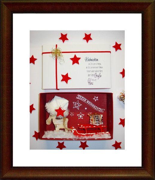 Gutschein Weihnachten /Weihnachtsgeldgeschenk von A -Z Bastelshop auf DaWanda.com