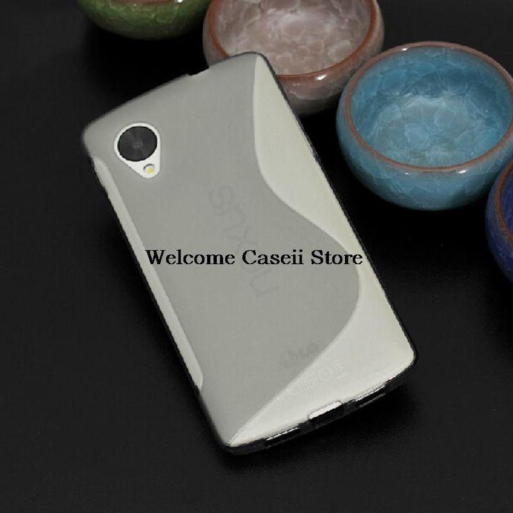 [YunJia] Для LG Nexus 5 E980 Optimus ГК Случае Мягкие TPU Линия Волны Гель Чехол Для LG Nexus 5 E980 Optimus ГК Чехол + Стилус