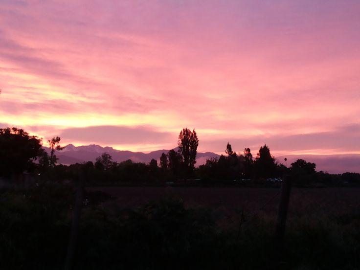 #amanecer San fernando , chile