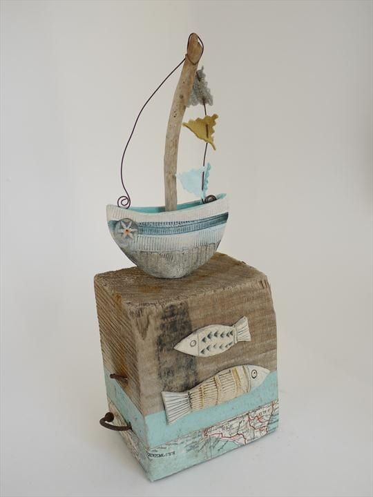 Little Boat Afloat - Shirley Vauvelle #RedsGreatBritishSeaside