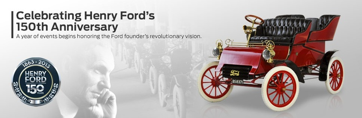 In 1903 with a total 28,000 in cash, Henry Ford started the Ford Motor Company, whose automobiles changed how the world moved.