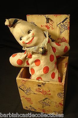 Antique Jack in the Box | Jack in the Box Toy. Truly terrifying.