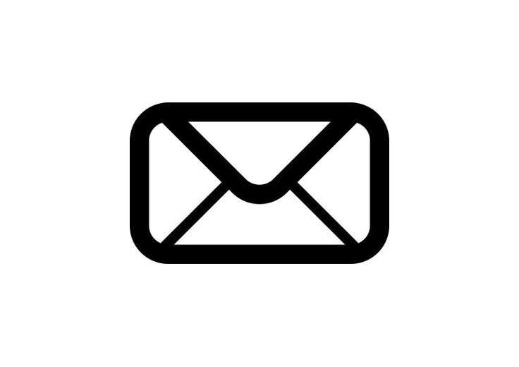 Mail Outline Free Vector Icon