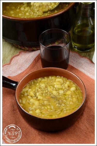 Zuppa di farro e fagioli - Toscana