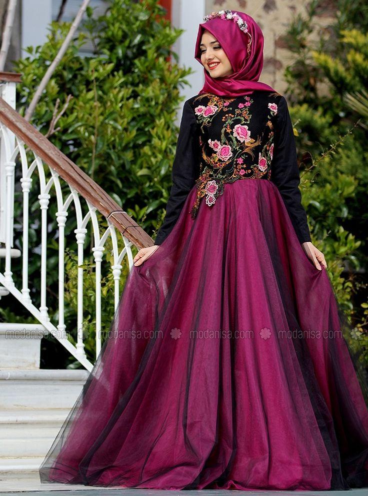 Spring Evening - Gamze Polat - Muslim Evening Dresses - Modanisa