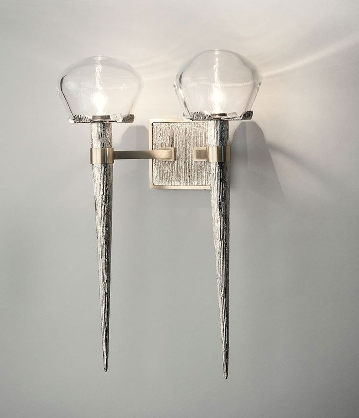 The Comet Sconce Double Designed By High Point NC Based HTK Design