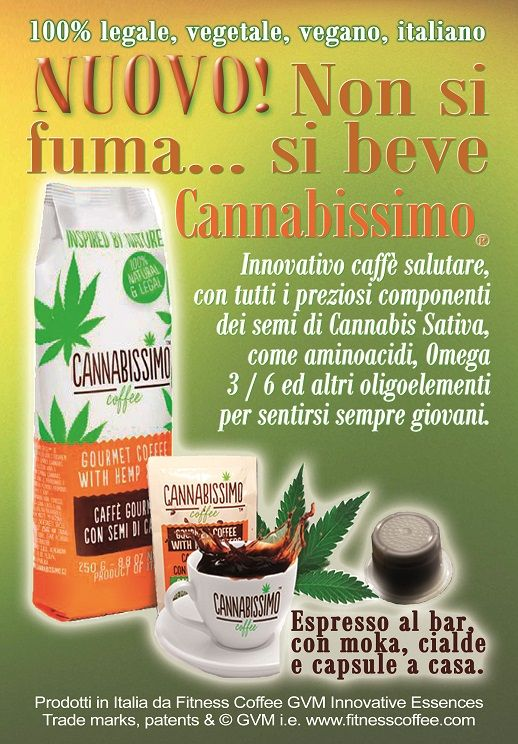 Cannabissimo non si fuma .... si beve