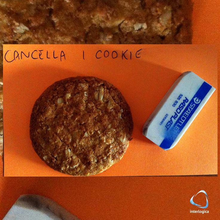 Per questo ultimo sabato di maggio vi postiamo un biscotto magico:  #biscottomagico #magiccookie #cancella #gomma #postit #post #maggio #may #sabato #saturday