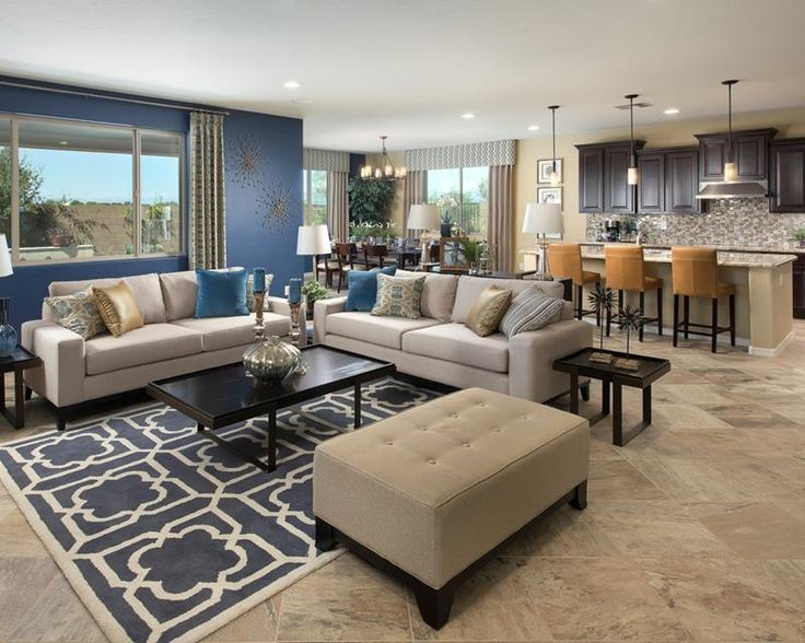 17 best ideas about blue accent walls on pinterest blue - Blue accent walls for living room ...