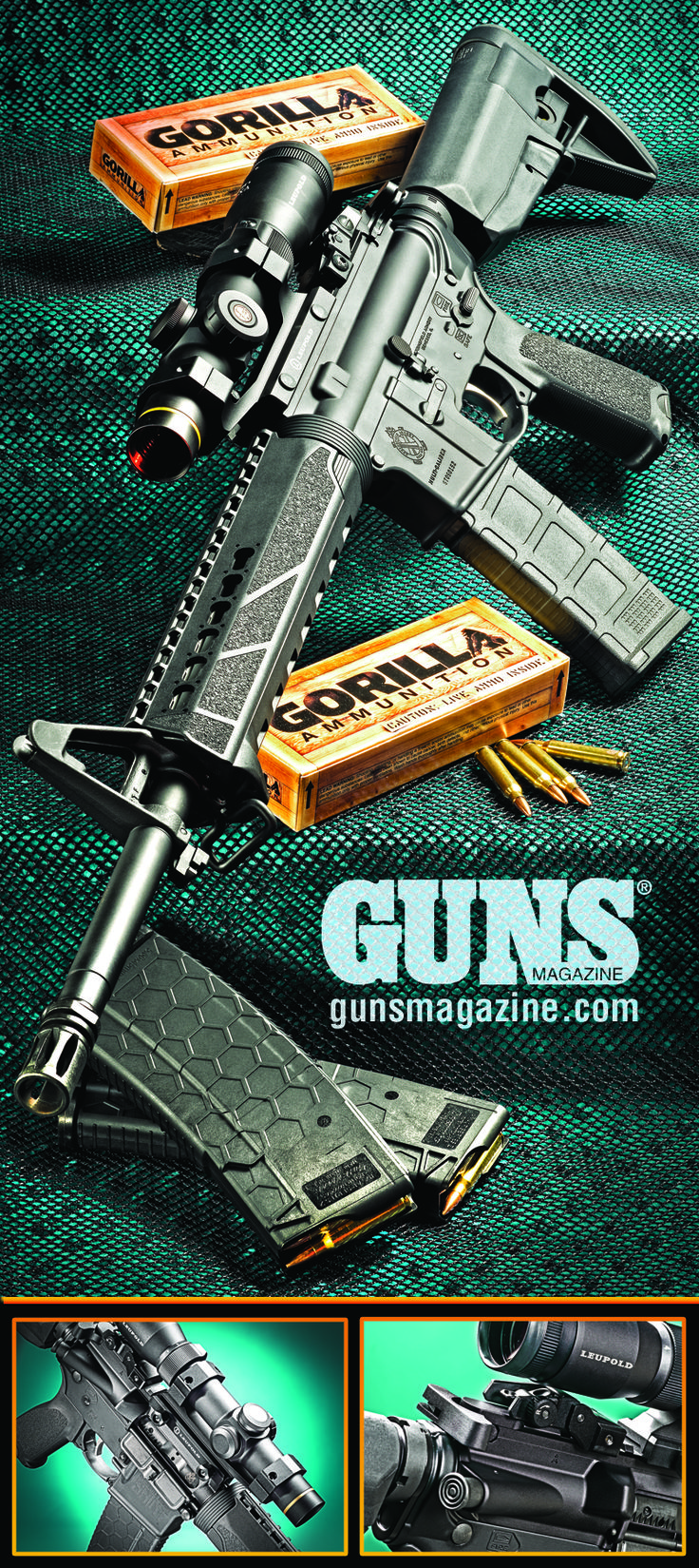 Springfield Armory Saint | Canonizing A Classic | By Will Dabbs, MD | Even if you don't sport the killer tats, photogenic sweat, and perfect physiques of the young men and women depicted in the Springfield Armory advertisements defending their legacies, this new thunderstick will likely appeal to you the same way it did to me. | © GUNS Magazine 2017