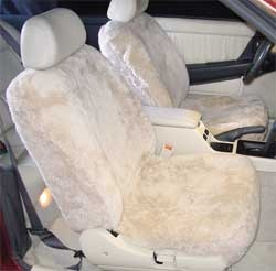 Sheepskin seat covers are crafted from premium quality genuine sheepskin. Sheepskin seat covers will keep you warm on winter mornings and cool on hot summer days.