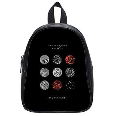 Large Size Twenty One Pilots Printing Shoulders Backpack Custom High School Students Backpack for Travel or Party