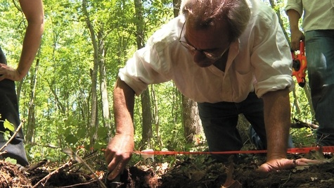 """Pequot Woods yields clues to 1637 British retreat: """"We've learned more about the Pequot War and the colonists in the past four years than in the previous 25,"""" Kevin McBride, the director of research at the Mashantucket Pequot Museum and Research Center, said. """"The archaeology and the historic narrative coming together begin to tell you the story."""""""
