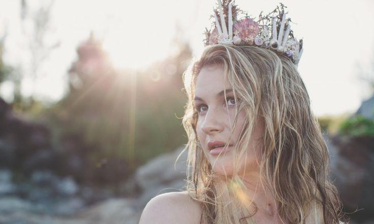 Корона из ракушек #DIY #fashionattack #корона