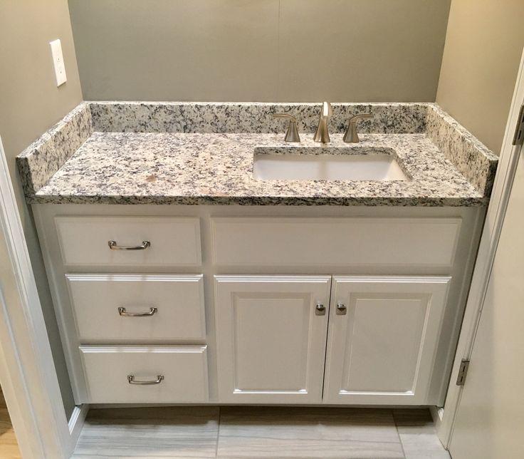 Ashen White Granite Countertops Moen 8 Quot Widespread Faucet
