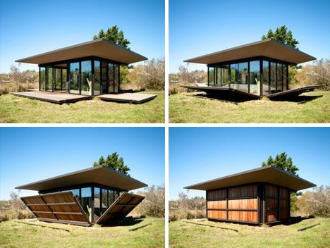 Garden Retreat (with sides the fold up and down).